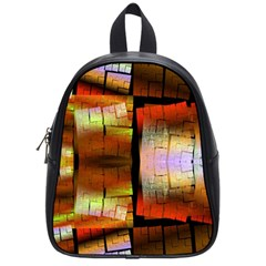 Fractal Tiles School Bags (small)  by Simbadda