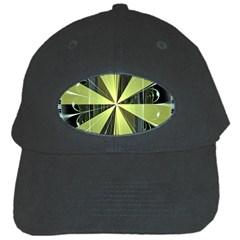 Fractal Ball Black Cap by Simbadda