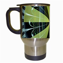 Fractal Ball Travel Mugs (white) by Simbadda