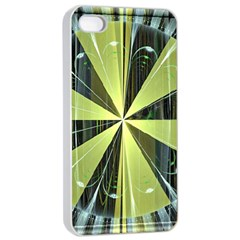 Fractal Ball Apple Iphone 4/4s Seamless Case (white) by Simbadda