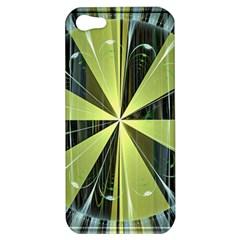 Fractal Ball Apple Iphone 5 Hardshell Case by Simbadda
