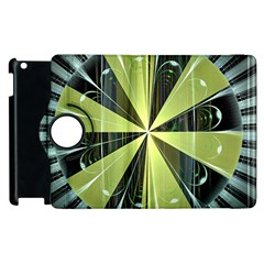 Fractal Ball Apple Ipad 3/4 Flip 360 Case by Simbadda