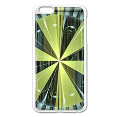 Fractal Ball Apple Iphone 6 Plus/6s Plus Enamel White Case by Simbadda