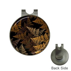Fractal Fern Hat Clips With Golf Markers by Simbadda