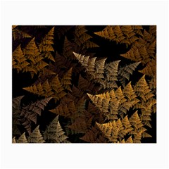 Fractal Fern Small Glasses Cloth (2 Side) by Simbadda