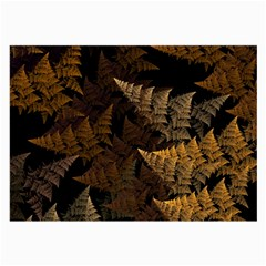 Fractal Fern Large Glasses Cloth (2 Side) by Simbadda