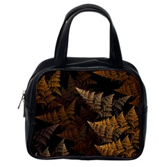 Fractal Fern Classic Handbags (one Side) by Simbadda