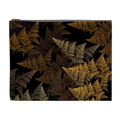 Fractal Fern Cosmetic Bag (xl) by Simbadda