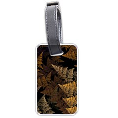 Fractal Fern Luggage Tags (one Side)  by Simbadda