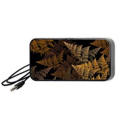 Fractal Fern Portable Speaker (black) by Simbadda