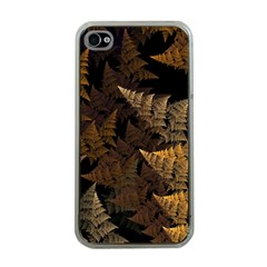 Fractal Fern Apple Iphone 4 Case (clear) by Simbadda