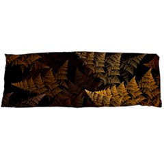Fractal Fern Body Pillow Case (dakimakura) by Simbadda