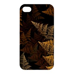 Fractal Fern Apple Iphone 4/4s Premium Hardshell Case by Simbadda