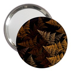 Fractal Fern 3  Handbag Mirrors by Simbadda