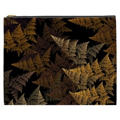 Fractal Fern Cosmetic Bag (xxxl)  by Simbadda