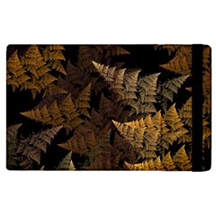 Fractal Fern Apple Ipad 2 Flip Case by Simbadda