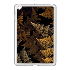 Fractal Fern Apple Ipad Mini Case (white) by Simbadda