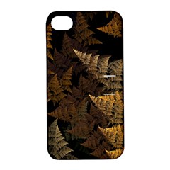 Fractal Fern Apple Iphone 4/4s Hardshell Case With Stand by Simbadda