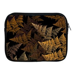 Fractal Fern Apple Ipad 2/3/4 Zipper Cases by Simbadda