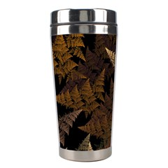 Fractal Fern Stainless Steel Travel Tumblers by Simbadda