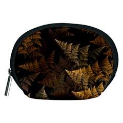 Fractal Fern Accessory Pouches (medium)  by Simbadda