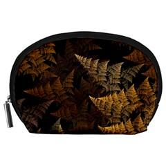 Fractal Fern Accessory Pouches (large)  by Simbadda