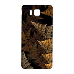 Fractal Fern Samsung Galaxy Alpha Hardshell Back Case by Simbadda