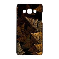Fractal Fern Samsung Galaxy A5 Hardshell Case  by Simbadda