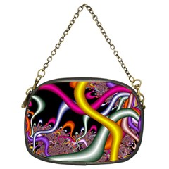 Fractal Roots Chain Purses (two Sides)  by Simbadda