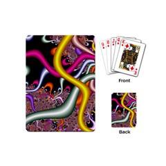 Fractal Roots Playing Cards (mini)  by Simbadda