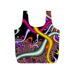 Fractal Roots Full Print Recycle Bags (s)  by Simbadda