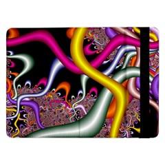 Fractal Roots Samsung Galaxy Tab Pro 12 2  Flip Case by Simbadda