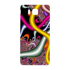 Fractal Roots Samsung Galaxy Alpha Hardshell Back Case by Simbadda