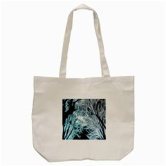 Fractal Forest Tote Bag (cream) by Simbadda