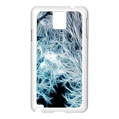 Fractal Forest Samsung Galaxy Note 3 N9005 Case (white) by Simbadda