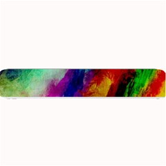 Abstract Colorful Paint Splats Small Bar Mats by Simbadda
