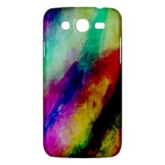 Abstract Colorful Paint Splats Samsung Galaxy Mega 5 8 I9152 Hardshell Case  by Simbadda