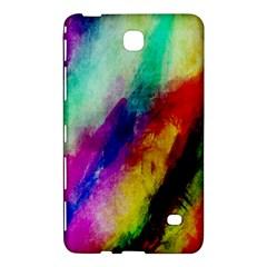 Abstract Colorful Paint Splats Samsung Galaxy Tab 4 (8 ) Hardshell Case  by Simbadda