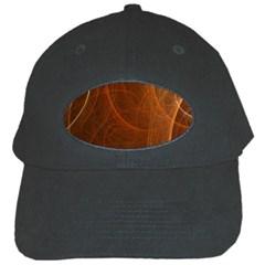 Fractal Color Lines Black Cap