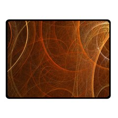 Fractal Color Lines Fleece Blanket (small) by Simbadda