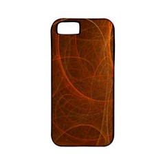 Fractal Color Lines Apple Iphone 5 Classic Hardshell Case (pc+silicone) by Simbadda