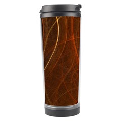 Fractal Color Lines Travel Tumbler by Simbadda
