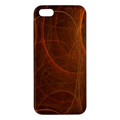 Fractal Color Lines Iphone 5s/ Se Premium Hardshell Case by Simbadda