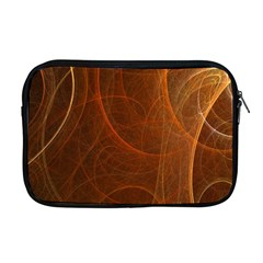 Fractal Color Lines Apple Macbook Pro 17  Zipper Case by Simbadda