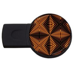 Fractal Patterns Usb Flash Drive Round (2 Gb) by Simbadda