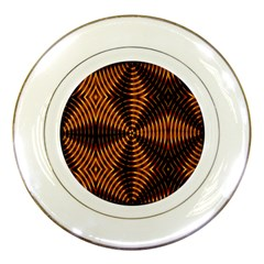Fractal Patterns Porcelain Plates by Simbadda