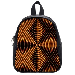 Fractal Patterns School Bags (small)  by Simbadda
