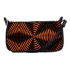 Fractal Patterns Shoulder Clutch Bags by Simbadda