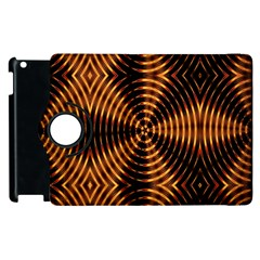 Fractal Patterns Apple Ipad 3/4 Flip 360 Case by Simbadda