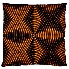 Fractal Patterns Standard Flano Cushion Case (two Sides) by Simbadda